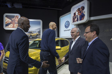 James Worthy L.A. Auto Show Showcases Latest Car Models