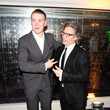 Dexter Fletcher and Will Poulter