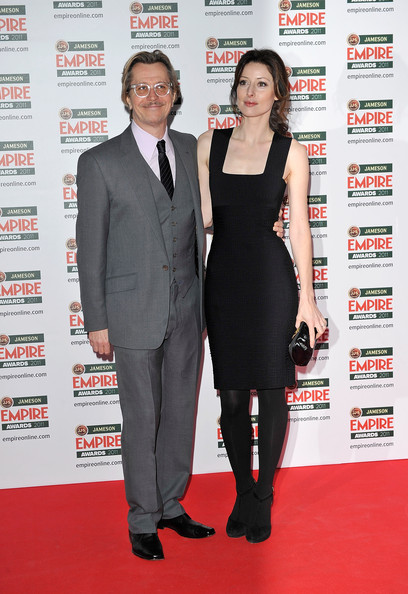 Gary Oldman and Alex Edenborough attend the Jameson Empire Awards at the Grosvenor House Hotel, on March 27, 2011 in London, England.