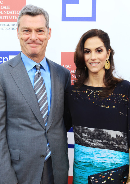 Jami Gertz with Husband Antony Ressler