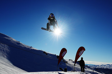 Jamie Anderson Winter Games NZ - FIS Snowboard World Cup Slopestyle - Qualifying