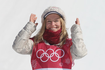 Jamie Anderson Snowboard - Winter Olympics Day 13