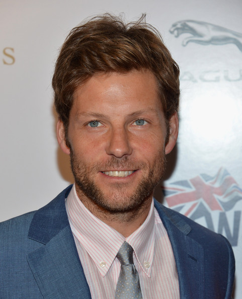 """BritWeek 2012's """"Evening With Piers Morgan"""" - Arrivals [britweek 2012,hair,facial hair,face,beard,hairstyle,chin,forehead,white-collar worker,moustache,jaw,jamie bamber,arrivals,beverly hills,california,evening with piers morgan,evening with piers morgan]"""