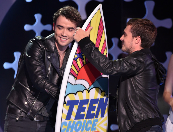 Jamie Blackley - Teen Choice Awards Show