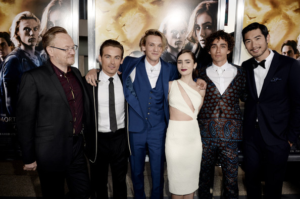 Jamie Campbell Bower - 'The Mortal Instruments: City of Bones' Premieres in Hollywood — Part 2