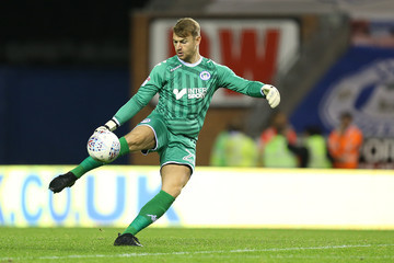 Jamie Jones Wigan Athletic v Northampton Town - Sky Bet League One