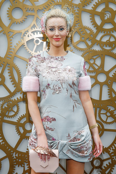 Celebrities Attend Stakes Day