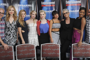 Jamie Lee Curtis SiriusXM's Entertainment Weekly Radio Channel Broadcasts from Comic-Con 2015
