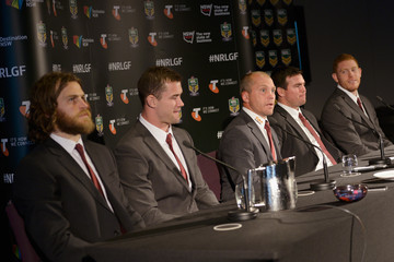 Jamie Lyon NRL Grand Final Media Conference