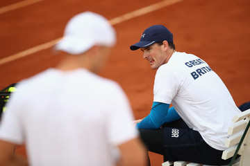Jamie Murray Spain v Great Britain - Davis Cup by BNP Paribas World Group First Round - Previews