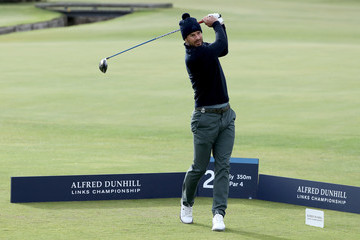 Jamie Redknapp Alfred Dunhill Links Championship - Day One