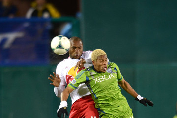 Jamison Olave New York Red Bulls v Seattle Sounders - FC Tucson Desert Diamond Cup