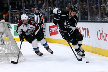 Jan Hejda Colorado Avalanche v Los Angeles Kings