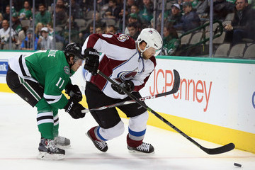 Jan Hejda Colorado Avalanche v Dallas Stars