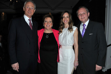 """Jan-Patrick Schmitz Montblanc And UNICEF Celebrate The Launch Of Their New """"Signature For Good 2013"""" Initiative At A Pre-Oscar Charity Brunch With Special Guest Hilary Swank"""