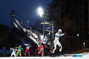 Jan Schmid Nordic Combined - Winter Olympics Day 5