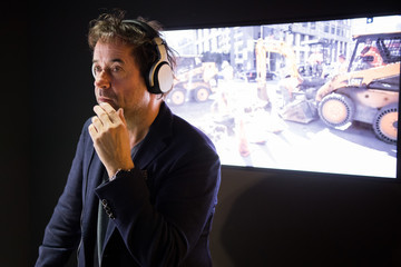 Jan-josef Liefers Global Premiere of Porsche Design and KEF Audio Systems in Munich