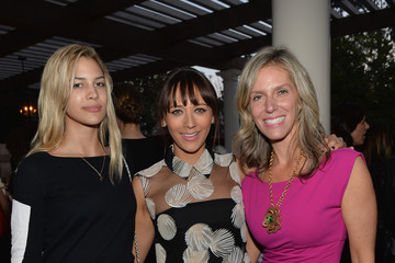 Jane Buckingham Cindi Leive and Jane Buckingham Celebrate Rashida Jones' New Glamour Column