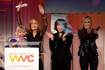 Jane Fonda Gloria Steinem Women's Media Awards Dinner and Presentation