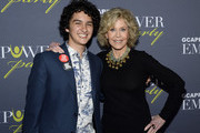 ATLANTA OCTOBER 04: Youth Activist Royce Mann and Jane Fonda - GCAPP Founder Board Chair Emeritus attend The 2018 Georgia Campaign For Adolescent Power & Potential (GCAPP) EmPower Party - Hosted by Jane Fonda on October 4, 2018 at The Fairmont in Atlanta, Georgia.
