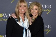 ATLANTA OCTOBER 04:  Laura Turner Seydel - Turner Foundation and Jane Fonda - GCAPP Founder Board Chair Emeritus attend The 2018 Georgia Campaign For Adolescent Power & Potential (GCAPP) EmPower Party - Hosted by Jane Fonda on October 4, 2018 at The Fairmont in Atlanta, Georgia.