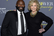 ATLANTA OCTOBER 04: Ronald McNeill, GCAPP President/CEO, and Jane Fonda, GCAPP Founder Board Chair Emeritus, attend The 2018 Georgia Campaign For Adolescent Power & Potential (GCAPP) EmPower Party - Hosted by Jane Fonda on October 4, 2018 at The Fairmont in Atlanta, Georgia.