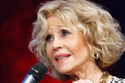Jane Fonda receives the Prix Lumiere 2018 At 10th Film Festival Lumiere on October 19, 2018 in Lyon, France.