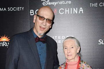 Jane Goodall Disneynature With the Cinema Society Host the Premiere of 'Born in China'