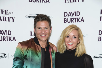 Jane Krakowski David Burtka Celebrates The Launch Of The Life Is A Party Cookbook In New York City With The Capital One Savor® Credit Card
