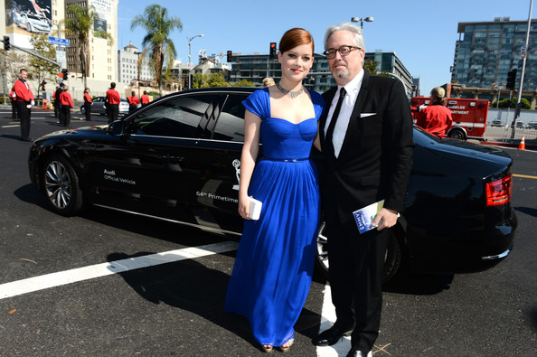 Audi Arrivals At The 64th Primetime Emmy Awards