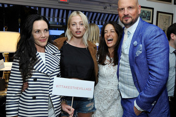 Jane Ross Caroline Vreeland Nathan Turner and the Village at Westfield Topanga Preview Party
