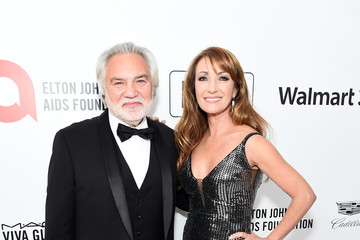 Jane Seymour David Green 28th Annual Elton John AIDS Foundation Academy Awards Viewing Party Sponsored By IMDb, Neuro Drinks And Walmart - Red Carpet