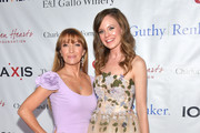 Rachel Boston and Jane Seymour attend The Open Hearts Foundation's 2019 Open Hearts Gala at SLS Hotel on February 16, 2019 in Beverly Hills, California.