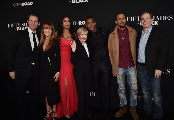 Premiere of Open Roads Films' 'Fifty Shades of Black' - Red Carpet