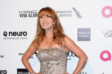 Jane Seymour Arrivals at the Elton John AIDS Foundation Oscars Viewing Party — Part 4