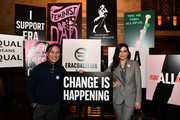 BD Wong and Sophia Bush attend the Jane Walker by Johnnie Walker Equal Rights Amendment Celebration with The ERA Coalition at The Campbell Bar on March 10, 2020 in New York City.