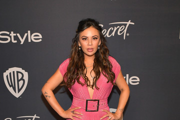 Janel Parrish The 2020 InStyle And Warner Bros. 77th Annual Golden Globe Awards Post-Party - Red Carpet