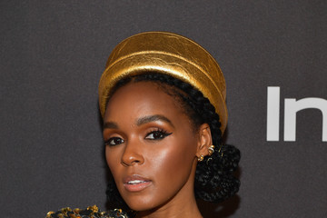 Janelle Monae The 2019 InStyle And Warner Bros. 76th Annual Golden Globe Awards Post-Party - Red Carpet