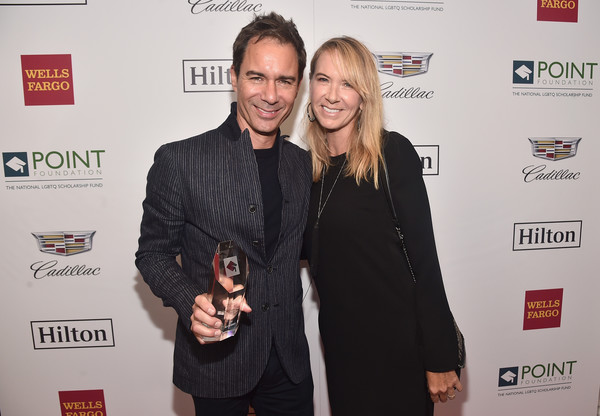 Point Honors Los Angeles 2018, Benefiting Point Foundation - Inside [event,premiere,carpet,award,eric mccormack,janet holden,point honors,benefiting point foundation - inside,point impact award,los angeles,the beverly hilton hotel,california,l,gala]