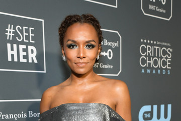 Janet Mock The 24th Annual Critics' Choice Awards - Red Carpet