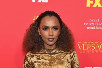 Janet Mock Premiere Of FX's 'The Assassination Of Gianni Versace: American Crime Story' - Arrivals