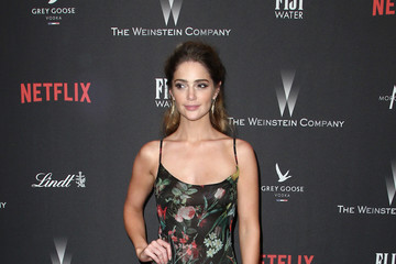 Janet Montgomery The Weinstein Company and Netflix Golden Globe Party, Presented With FIJI Water, Grey Goose Vodka, Lindt Chocolate, and Moroccanoil - Red Carpet