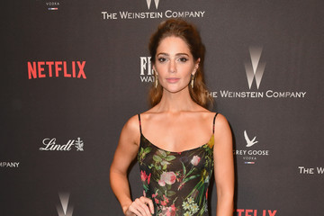 Janet Montgomery 2017 Weinstein Company and Netflix Golden Globes After Party - Arrivals