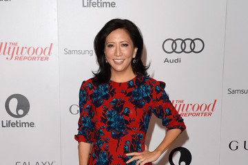 Janice Min Arrivals at the Women In Entertainment Breakfast