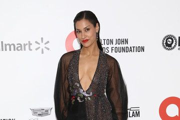 Janina Gavankar IMDb LIVE Presented By M&M'S At The Elton John AIDS Foundation Academy Awards Viewing Party