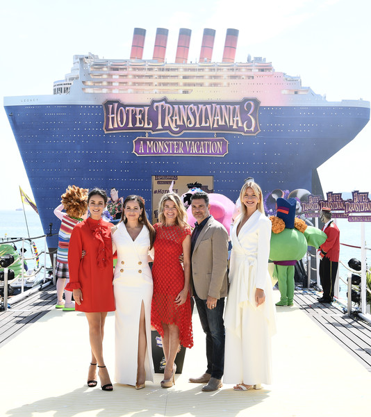 Hotel Transylvania 3 Monsters Kick Off Summer Vacation By Cruising Into Cannes Film Festival