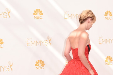 January Jones Arrivals at the 66th Annual Primetime Emmy Awards — Part 2