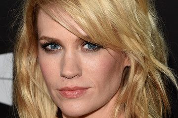 January Jones Arrivals at amfAR's Inspiration LA Gala — Part 3