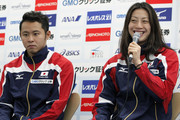 Kosuke Kitajima and Aya Terakawa Photos Photo
