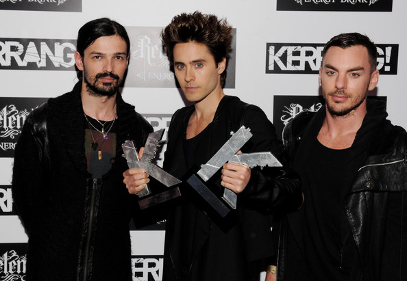 Jared Leto and Shannon Leto - The Relentless Energy Drink Kerrang!